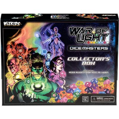 Dice Masters: DC War of Light Collector's Box-LVLUP GAMES