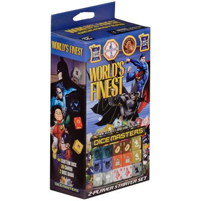 Dice Masters: DC World's Finest Starter Set-LVLUP GAMES