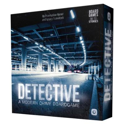 Detective: A Modern Crime Board Game-LVLUP GAMES