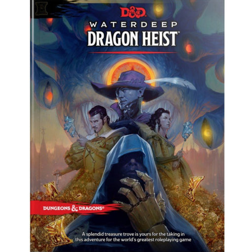 D&D (5th Edition) Waterdeep: Dragon Heist Hardcover RPG Book-LVLUP GAMES