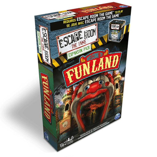 Escape Room - The Game: Welcome to Funland-LVLUP GAMES