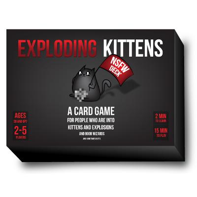 Exploding Kittens: NSFW Deck-LVLUP GAMES