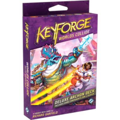Keyforge: Worlds Collide Deluxe Deck-LVLUP GAMES