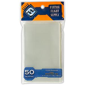 Fantasy Flight Supply: Tarot Card Sleeves, 50ct Clear-LVLUP GAMES