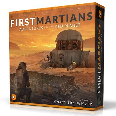 First Martians: Adventures on the Red Planet-LVLUP GAMES