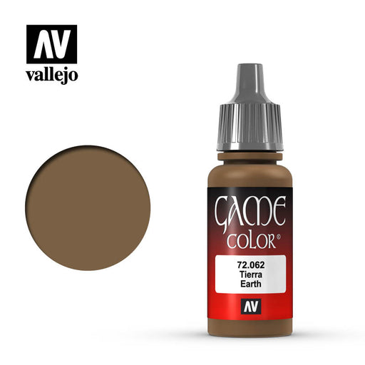 Vallejo: Game Color - Earth, 17Ml