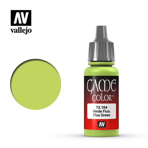 Vallejo: Game Color - Fluorescent Green, 17Ml