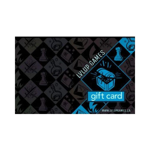 Gift Card-$10.00 CAD-LVLUP GAMES