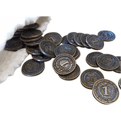 Glen More II: Chronicles - 40 Metal Coins-LVLUP GAMES