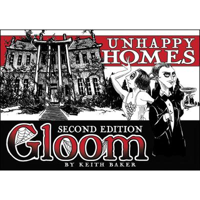 Gloom: Unhappy Homes (2nd Edition)-LVLUP GAMES