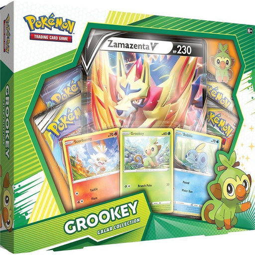 Pokemon: Sword & Shield Galar Collection Box - Grookey-Grookey / Zamazenta-LVLUP GAMES