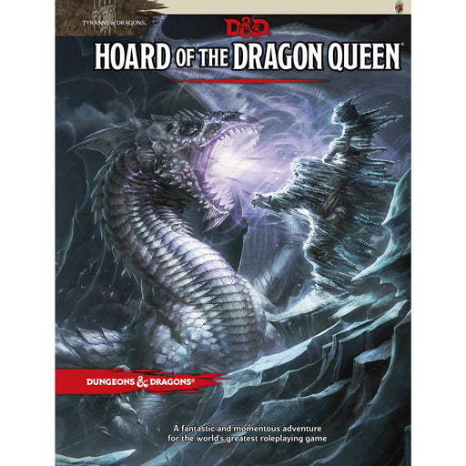 D&D (5th Edition) Hoard of the Dragon Queen RPG Book-LVLUP GAMES