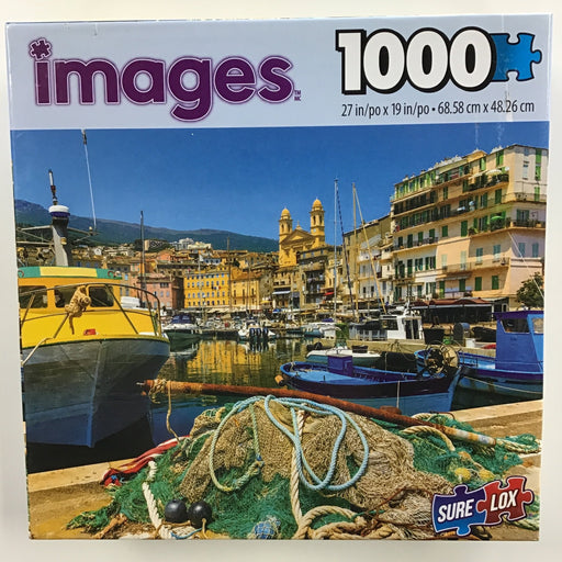 Images Assorted Puzzles, 1000 Pieces-Bastia Port-LVLUP GAMES