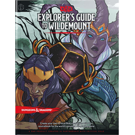 D&D (5th Edition) Explorer's Guide to Wildemount Hardcover RPG Book-LVLUP GAMES