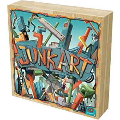 Junk Art (Wooden Edition)-LVLUP GAMES