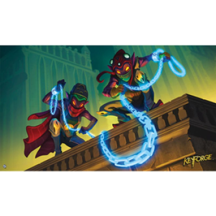 Keyforge: Chain Gang Playmat-LVLUP GAMES