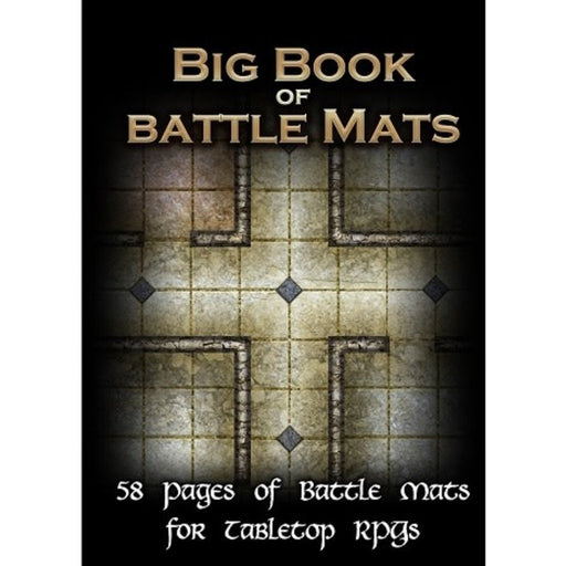 Big Book of Battle Mats-LVLUP GAMES