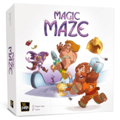 Magic Maze-LVLUP GAMES