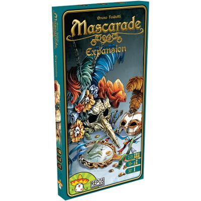 Mascarade Expansion-LVLUP GAMES