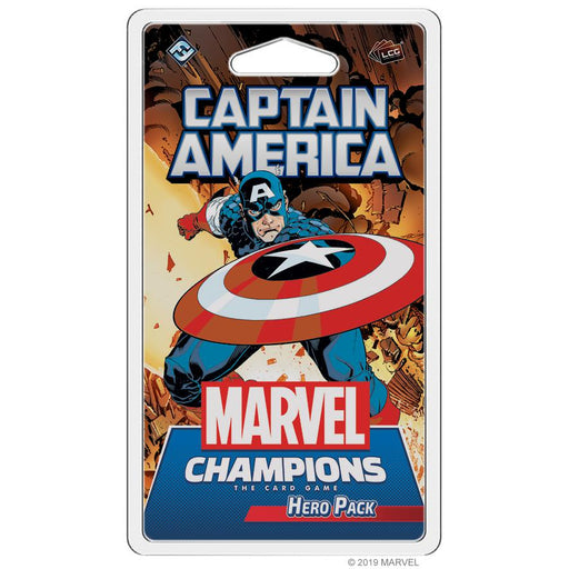 Marvel Champions LCG: Hero Pack - Captain America-LVLUP GAMES