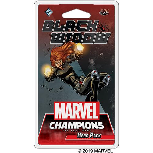 Marvel Champions LCG: Hero Pack - Black Widow-LVLUP GAMES