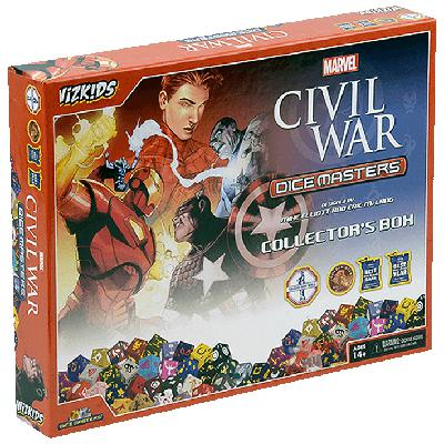 Dice Masters: Marvel Civil War Collector's Box