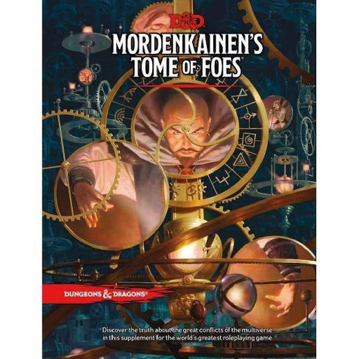 D&D (5th Edition) Mordenkainen's Tome of Foes Hardcover RPG Book-LVLUP GAMES