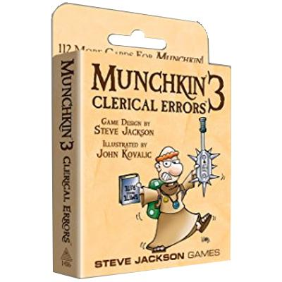 Munchkin 3: Clerical Errors-LVLUP GAMES