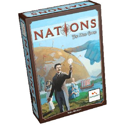 Nations: The Dice Game-LVLUP GAMES