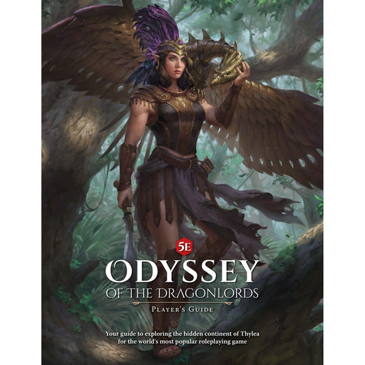 D&D Odyssey of the Dragonlords: Players Guide-LVLUP GAMES