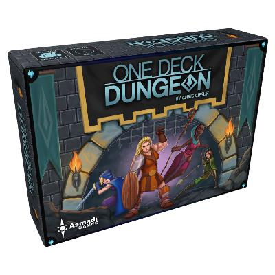 One Deck Dungeon-LVLUP GAMES