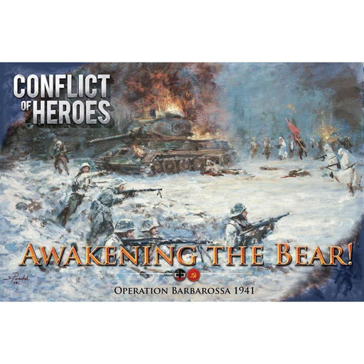 Conflict Of Heroes Awakening The Bear 3Rd Edition-LVLUP GAMES