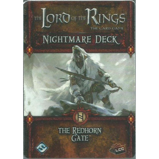 Lord Of The Rings Lcg: The Redhorn Gate Nightmare