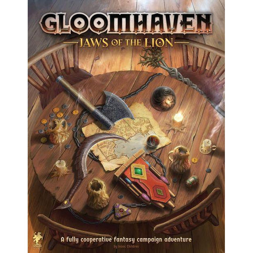 PRE-ORDER | Gloomhaven: Jaws of the Lion-LVLUP GAMES