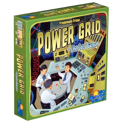 Power Grid: The Card Game-LVLUP GAMES
