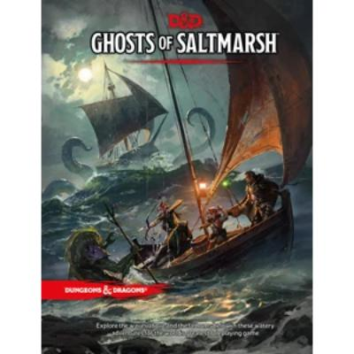 D&D (5th Edition) Ghosts of Saltmarsh Hardcover RPG Book-LVLUP GAMES