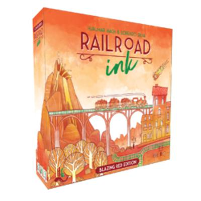 Railroad Ink: Blazing Red Edition-LVLUP GAMES