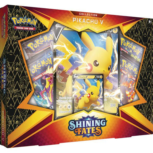 Pokemon: Shining Fates - Pikachu V Box