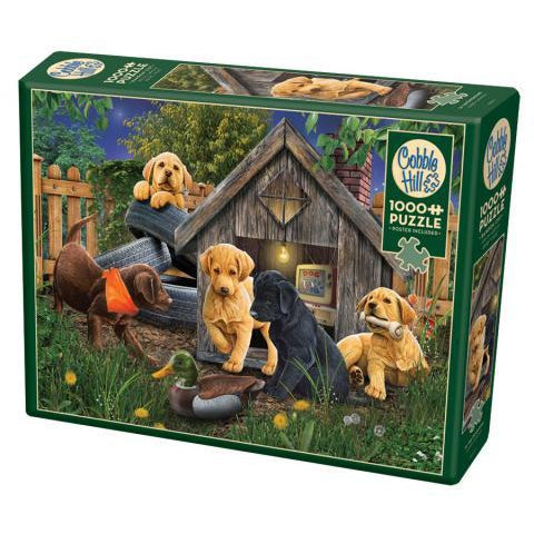 In the Doghouse 1000pc Puzzle
