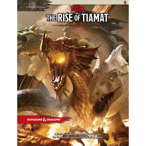 D&D (5th Edition) The Rise of Tiamat RPG Book-LVLUP GAMES