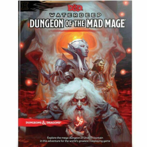 D&D (5th Edition) Waterdeep: Dungeon of the Mad Mage Hardcover RPG Book-LVLUP GAMES