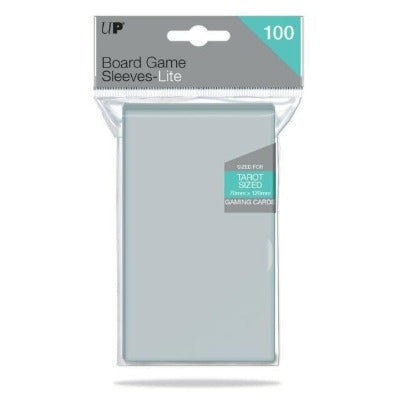 Ultra Pro Lite: Tarot 70mm x 120mm Sleeves, 100ct Clear-LVLUP GAMES
