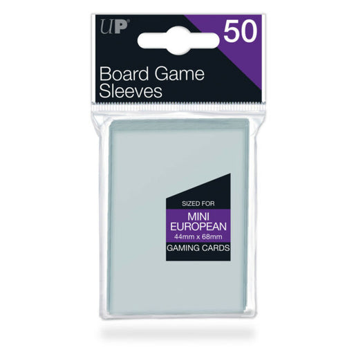 Ultra Pro: Mini European 44mm x 68mm Sleeves, 50ct Clear-LVLUP GAMES