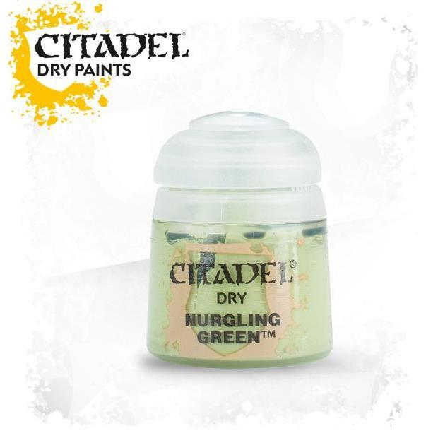 Citadel Paint: Dry - Nurgling Green