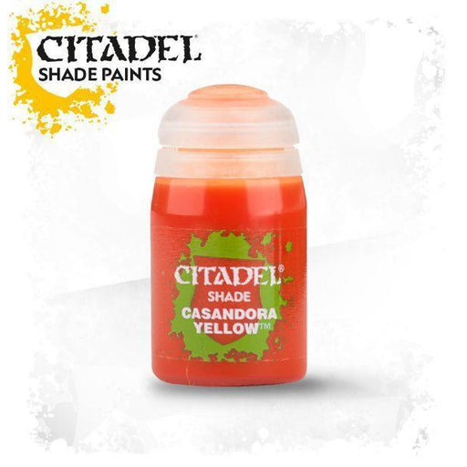 Citadel Paint: Shade - Casandora Yellow (24 ml)-LVLUP GAMES