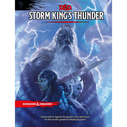 D&D (5th Edition) Storm King's Thunder Hardcover RPG Book-LVLUP GAMES
