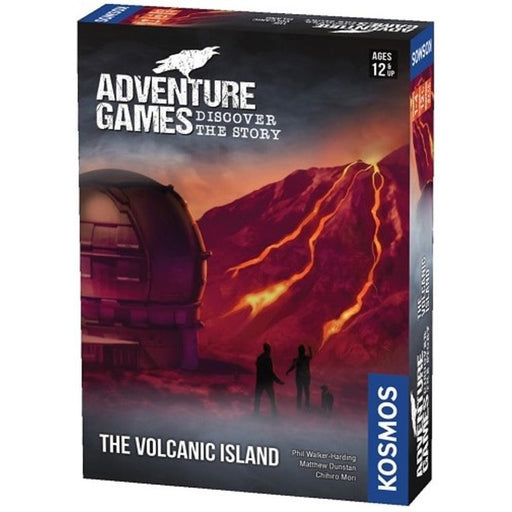 PRE-ORDER | Adventure Games: The Volcanic Island-LVLUP GAMES