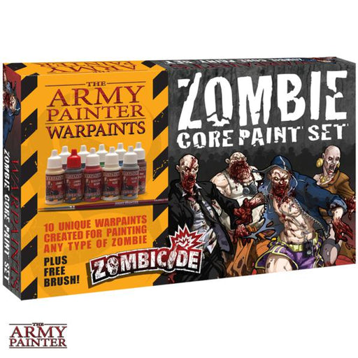 The Army Painter: Warpaints - Zombicide Core Paint Set -LVLUP GAMES