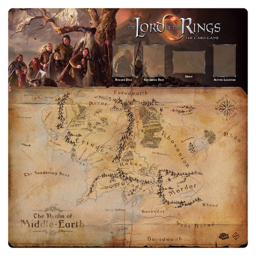 Lord Of The Rings: Fellowship 1-4 Player Gamemat
