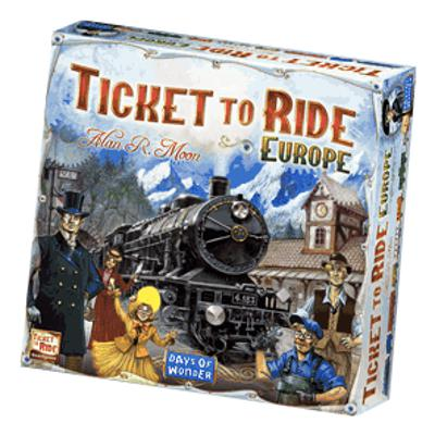 Ticket to Ride: Europe-LVLUP GAMES